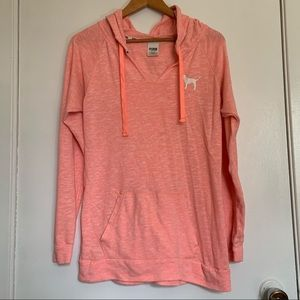 Pink Oversized Hoodie sweater size XS
